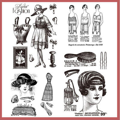 NEW Character Clear Rubber Stamps Scrapbook Paper Craft Clear stamp scrapbooking
