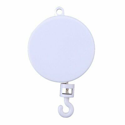 Rotary Baby Crib Mobile Bed Bell Toy Holder Arm Bracket Hanging Music Box White