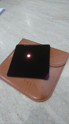 NISI 6-STOP NANO IR ND64 ND FILTER 100 x 100mm - EXCELLENT CONDITION WITH CASE!