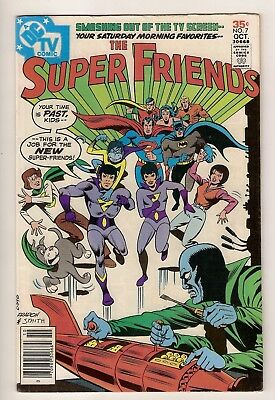SUPER FRIENDS 7 KEY 1st Wonder Twins KEY Superman Flash Hawkman Hawkgirl HOJ