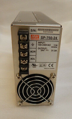 MEANWELL SP-750-24 Switching power supply DC 24V 31.3A 750W 100-240VAC