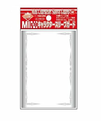 Barrier Mini Character Guard Card Sleeves (60 Piece) Clear 62 x 87mm