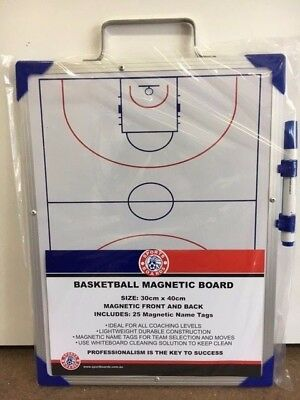 Basketball Magnetic Coaches Board - (40Cm X 30Cm)