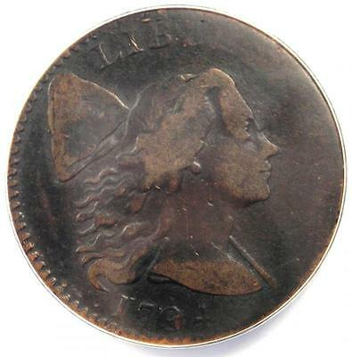 1794 Liberty Cap Large Cent 1C S-32 - Certified ANACS F12 (Fine) - $1,190 Value