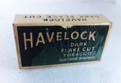 Tobacco Unopened Not For Use Havelock Dark Flake Cut Full Pack
