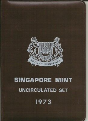 Singapore - 1973 - Uncirculated Coin Set