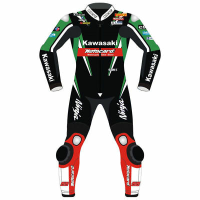 MotorBike Leathers Suit Motorcycle Cowhide Leathers bikers Racing Suit CE Armour