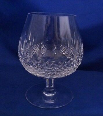 "A Waterford Crystal 'colleen' 5 1/8"" Brandy Goblet/glass"