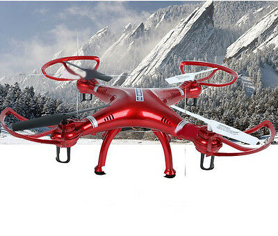 Red New Length 35CM Remote Control Four Axis Aircraft Model Electronic Toys #