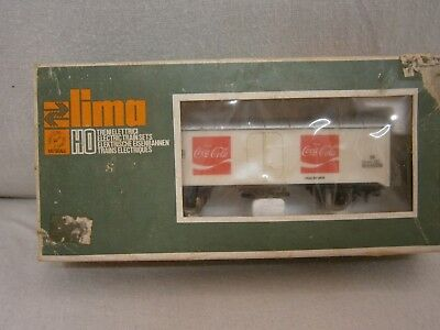 Vintage Lima 1/87 Scale Ho Coca Cola Train Carraige - Vgc