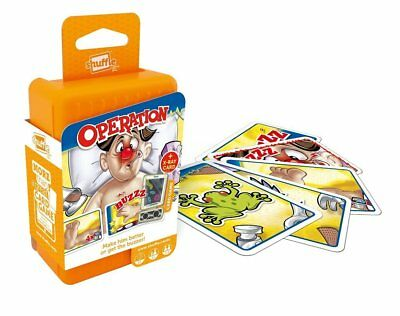 Shuffle Operation Card Game - Fast-Playing Travel Pack Word Game