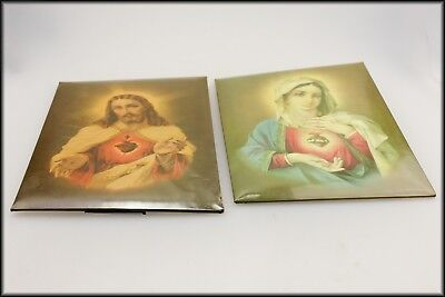 Two Antique Religious Pictures