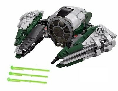 Lego Star Wars Yodas Jedi Starfighter From 75168 Ship And