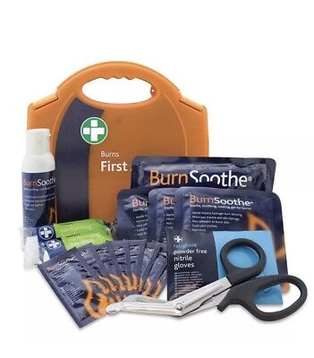 Reliance Medical Burns Standard First Aid Kit in Aura Carry Box