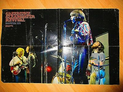 """CREEDENCE CLEARWATER REVIVAL - XXL POSTER AUS """"POPFOTO"""" 315/1970 (D)  83 x 53"""