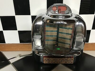 Seeburg 3W1 Wallbox Jukebox