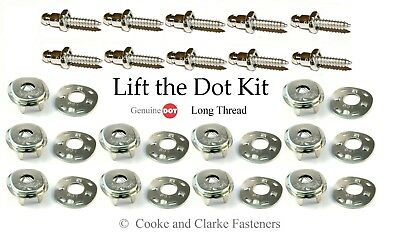 "Lift the dot fastener kit sockets 5/8"" screw studs boat canopy bimini canvas"