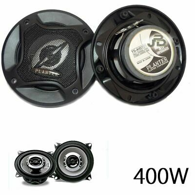 Kit Altoparlanti Auto 400 Watt 16 Cm Coppia Casse Audio 400 W 2 Vie Tweeter
