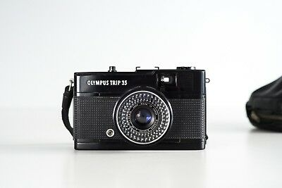olympus trip35 black limited  Mint condition