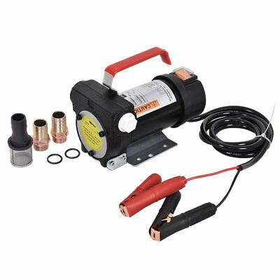 Portable 12V 60W Diesel Fluid Extractor Electric Transfer Pump Car Fuel Deliver