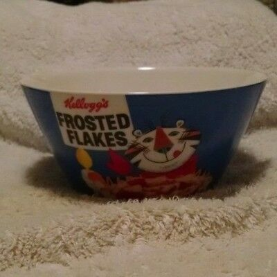 """Vintage Kellogg's Frosted Flakes """"Tony the Tiger"""" Cereal Bowl"""