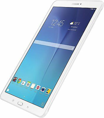 """Samsung Galaxy Tab E SM-T560 Tablet 9.6"""" Android 8GB Wi-Fi - Pearl White NEW"""
