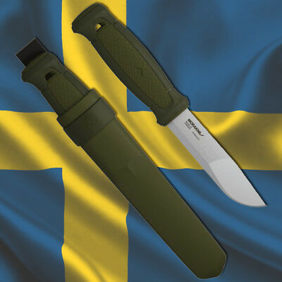 MORAKNIV KANSBOL STAINLESS Mora Knives of Sweden Bushcraft Outdoor Hunting Knife
