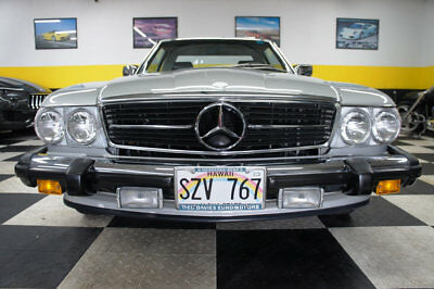 1988 Mercedes-Benz SL-Class SL 1988 MERCEDES 560 SL  - IMMACULATE - ONLY 4591 MILES - CLEAN