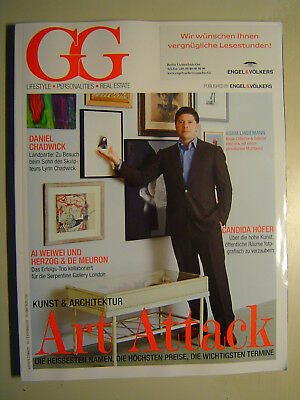 GG 4/12 Lifestyle Personalities Real Estate: Art Attack, Candida Höfer, Chadwick