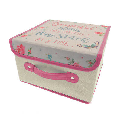 Country Club Sewing & Craft Box, Beautiful Things Pink Arts Crafting Storage