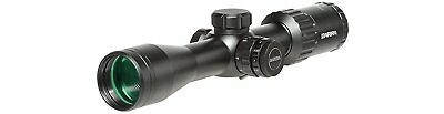 Barra Rifle Scope H30 4-12x40 Illuminated BDC Reticle Capped Turrets Hunting