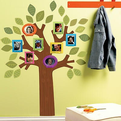 Wallies Fun Family Tree Decals décor for baby and child nursery room