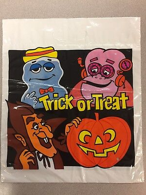 Vintage Booberry Frankenberry Count Chocula Halloween Bag Trick Or Treat