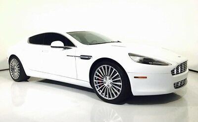 2012 Aston Martin Rapide  Manufacturer Warranty through Feb 2019