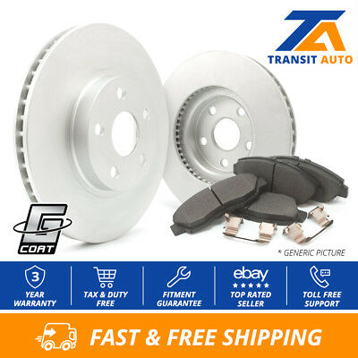 Front Rear Disc Rotors /& Ceramic Brake Pads Fits Relay Terraza Uplander
