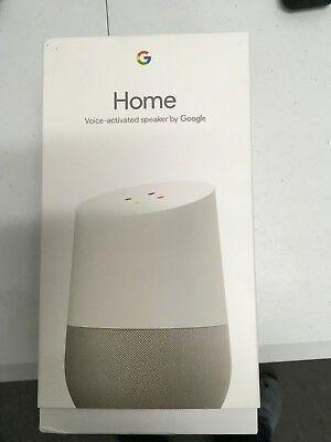 OPEN BOX-Google Home Hands Free Personal Voice Assistant White Slate Base
