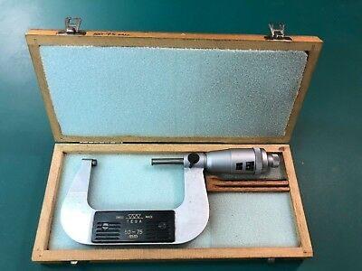 Micrometer Metric 50 to 75 mm, Swiss made by TESA