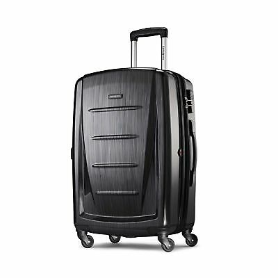 Samsonite Luggage Winfield 2 Fashion HS Spinner 24 Brushed Anthracite