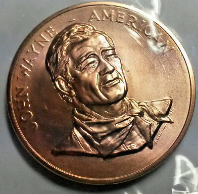 John Wayne 1979 United States Mint Congressional GOLD Medal RARE!
