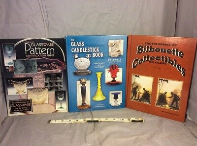 Lot Of 3 Glass Collecting References And Price Guide