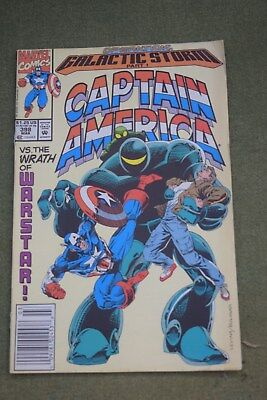 Captain America No 398 March operation Galactic storm part 1