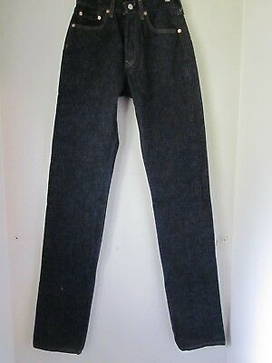 Vintage Made in USA Levi's 501 High Rise Jeans 27X38. Women's fit. new old stock