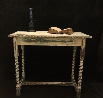 Victorian Painted Wash Stand, Table, unique, perfect condition, decorative