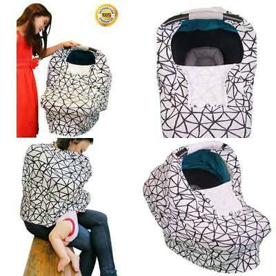 Stretchy Baby Car Seat Covers For Boys Girls Infant Car Canopy For All Seasons  sc 1 st  PicClick & BABY CAR Seat Cover For Boys By Danha Carseat Canopy Gray Color ...