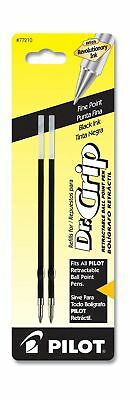 Pilot Dr. Grip Ballpoint Ink Refill, 2-Pack for Retractable Pens, Fine Point,...