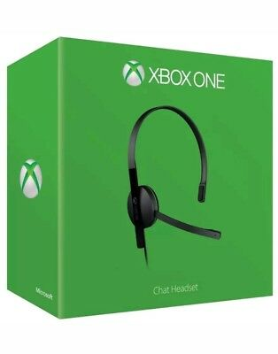 Official Xbox One Chat Headset 3.5mm jack