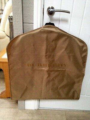 Genuine Burberry Large Carrier/ Garment Bag. New Without Tags. Colour: Gold