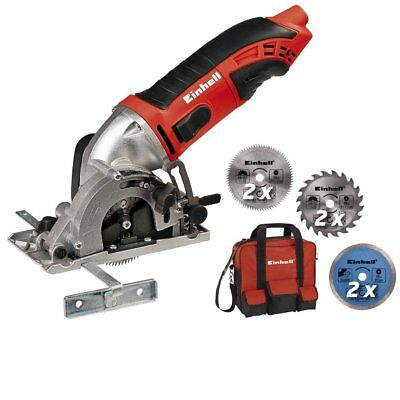 Einhell EINTCCS8602K TC-CS 860/2 Mini Circular Saw Kit 450 Watt 240 Volt 4330994