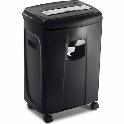 12-Sheet Crosscut Paper and Credit Card Shredder with Pullout Basket Aurora