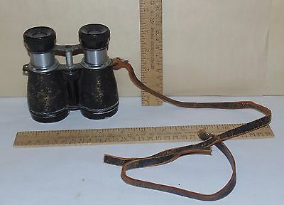 AIRGUIDE CHROMATIC 4X40 46A - Vintage BINOCULARS - Broken leather Strap